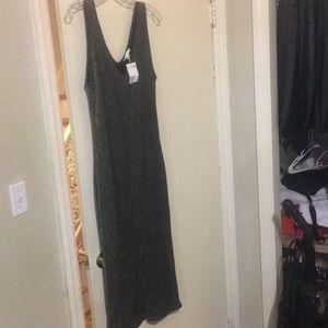 H&M Long Glitter Dress, Women's size large